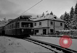 Image of Train at railroad Garmisch-Partenkirchen Germany, 1965, second 29 stock footage video 65675043205