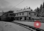 Image of Train at railroad Garmisch-Partenkirchen Germany, 1965, second 30 stock footage video 65675043205