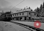 Image of Train at railroad Garmisch-Partenkirchen Germany, 1965, second 31 stock footage video 65675043205