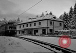 Image of Train at railroad Garmisch-Partenkirchen Germany, 1965, second 32 stock footage video 65675043205