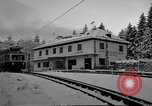 Image of Train at railroad Garmisch-Partenkirchen Germany, 1965, second 33 stock footage video 65675043205
