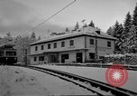 Image of Train at railroad Garmisch-Partenkirchen Germany, 1965, second 34 stock footage video 65675043205