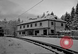 Image of Train at railroad Garmisch-Partenkirchen Germany, 1965, second 36 stock footage video 65675043205