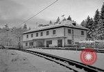 Image of Train at railroad Garmisch-Partenkirchen Germany, 1965, second 38 stock footage video 65675043205