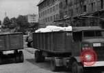 Image of Workers unload goods Berlin Germany, 1948, second 13 stock footage video 65675043217