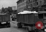Image of Workers unload goods Berlin Germany, 1948, second 14 stock footage video 65675043217