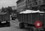 Image of Workers unload goods Berlin Germany, 1948, second 15 stock footage video 65675043217
