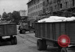 Image of Workers unload goods Berlin Germany, 1948, second 16 stock footage video 65675043217