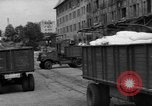 Image of Workers unload goods Berlin Germany, 1948, second 17 stock footage video 65675043217