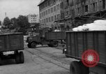 Image of Workers unload goods Berlin Germany, 1948, second 18 stock footage video 65675043217