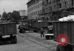 Image of Workers unload goods Berlin Germany, 1948, second 19 stock footage video 65675043217