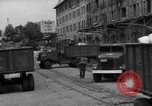 Image of Workers unload goods Berlin Germany, 1948, second 20 stock footage video 65675043217