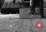 Image of Workers unload goods Berlin Germany, 1948, second 36 stock footage video 65675043217