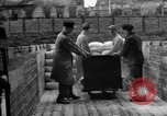 Image of Workers unload goods Berlin Germany, 1948, second 49 stock footage video 65675043217
