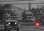 Image of Fifth Motor Pool Transportation Squadron Korea, 1954, second 9 stock footage video 65675043227