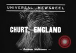 Image of Mechanical plow Churt England United Kingdom, 1938, second 2 stock footage video 65675043244
