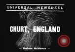 Image of Mechanical plow Churt England United Kingdom, 1938, second 3 stock footage video 65675043244