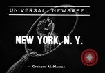 Image of winter clothing fashion show New York United States USA, 1938, second 3 stock footage video 65675043246