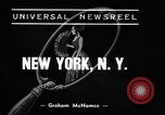 Image of winter clothing fashion show New York United States USA, 1938, second 4 stock footage video 65675043246