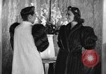 Image of winter clothing fashion show New York United States USA, 1938, second 19 stock footage video 65675043246