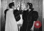 Image of winter clothing fashion show New York United States USA, 1938, second 20 stock footage video 65675043246