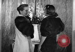 Image of winter clothing fashion show New York United States USA, 1938, second 21 stock footage video 65675043246