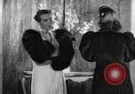 Image of winter clothing fashion show New York United States USA, 1938, second 23 stock footage video 65675043246