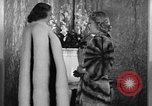 Image of winter clothing fashion show New York United States USA, 1938, second 37 stock footage video 65675043246