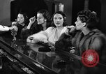 Image of winter clothing fashion show New York United States USA, 1938, second 46 stock footage video 65675043246