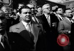 Image of May Day Parade Moscow Russia Soviet Union, 1953, second 22 stock footage video 65675043253