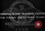 Image of Cavalry officers Pinerolo Italy, 1929, second 1 stock footage video 65675043266