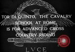 Image of Cavalry officers Rome Italy, 1929, second 4 stock footage video 65675043267