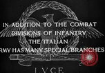 Image of Royal Mounted Carabineers Italy, 1929, second 3 stock footage video 65675043273