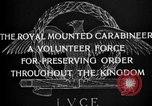 Image of Royal Mounted Carabineers Italy, 1929, second 12 stock footage video 65675043273