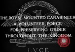 Image of Royal Mounted Carabineers Italy, 1929, second 13 stock footage video 65675043273