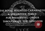 Image of Royal Mounted Carabineers Italy, 1929, second 14 stock footage video 65675043273