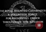 Image of Royal Mounted Carabineers Italy, 1929, second 15 stock footage video 65675043273
