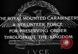 Image of Royal Mounted Carabineers Italy, 1929, second 17 stock footage video 65675043273