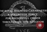 Image of Royal Mounted Carabineers Italy, 1929, second 18 stock footage video 65675043273