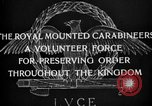 Image of Royal Mounted Carabineers Italy, 1929, second 19 stock footage video 65675043273