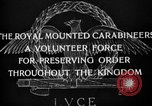 Image of Royal Mounted Carabineers Italy, 1929, second 21 stock footage video 65675043273