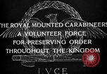 Image of Royal Mounted Carabineers Italy, 1929, second 22 stock footage video 65675043273