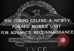 Image of Corpo Celere Italy, 1929, second 4 stock footage video 65675043274