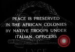 Image of African troops in Italian colony Italy, 1929, second 1 stock footage video 65675043282
