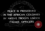 Image of African troops in Italian colony Italy, 1929, second 2 stock footage video 65675043282