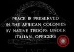 Image of African troops in Italian colony Italy, 1929, second 3 stock footage video 65675043282