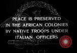 Image of African troops in Italian colony Italy, 1929, second 4 stock footage video 65675043282