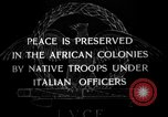Image of African troops in Italian colony Italy, 1929, second 6 stock footage video 65675043282