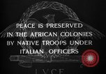 Image of African troops in Italian colony Italy, 1929, second 8 stock footage video 65675043282