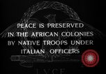 Image of African troops in Italian colony Italy, 1929, second 10 stock footage video 65675043282